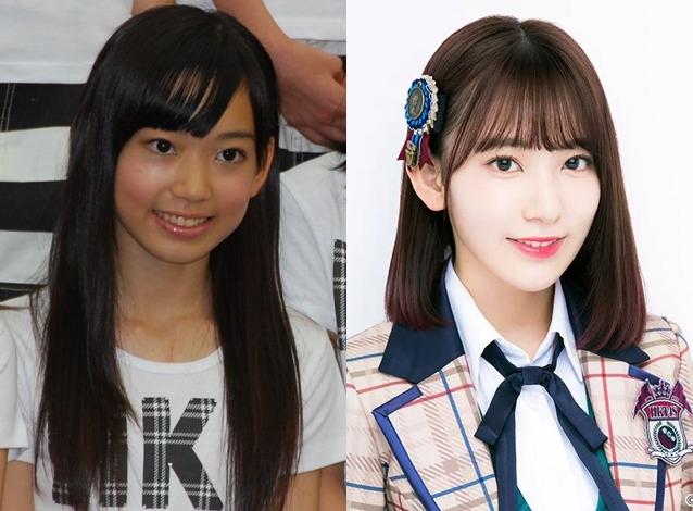宮脇咲良2011と2018比較