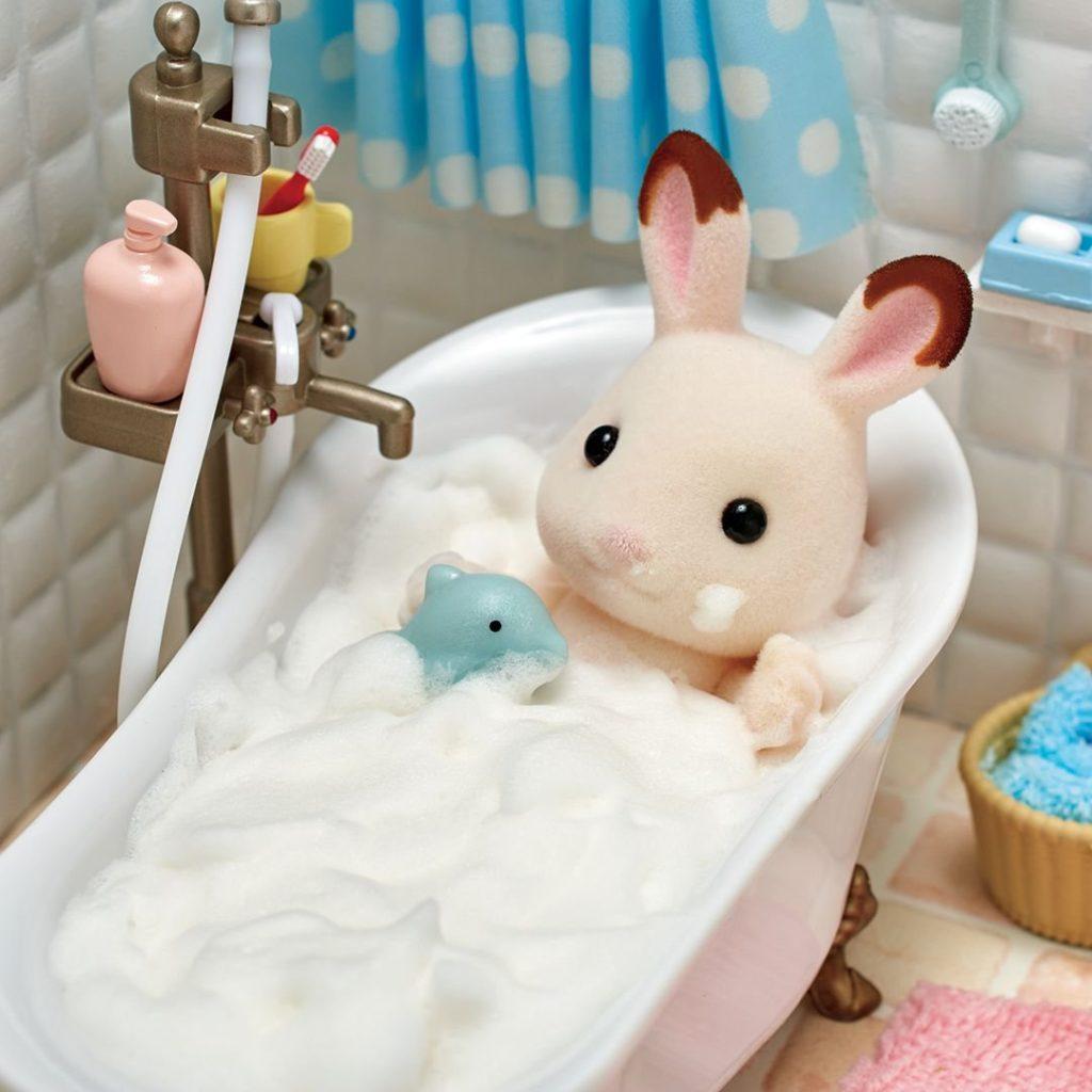 シルバニアファミリー 風呂