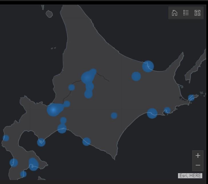 北海道感染者数